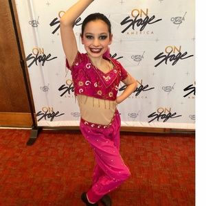 Girls Dance Costume Jazz Competition